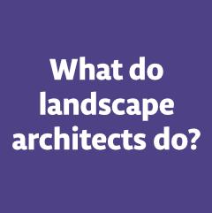 What landscape architects do plans sketches services for What do landscape architects do